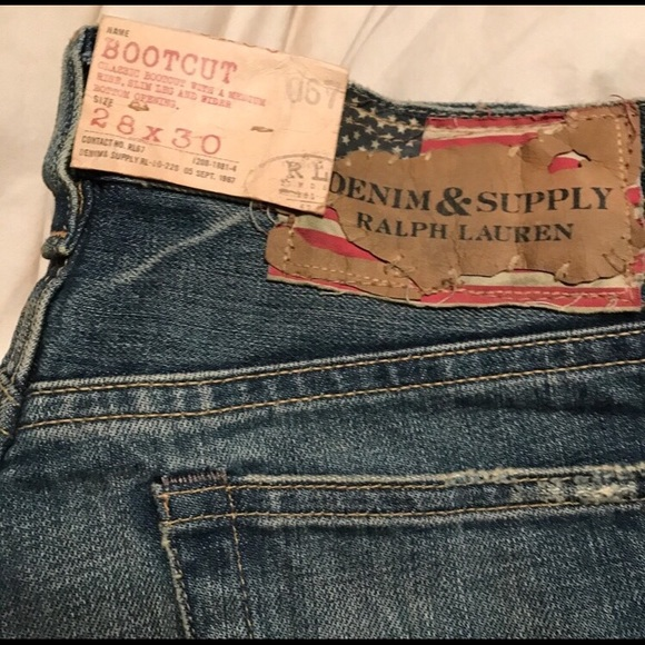 e6918f999 Denim   Supply Ralph Lauren Mens Bootcut Jeans 28